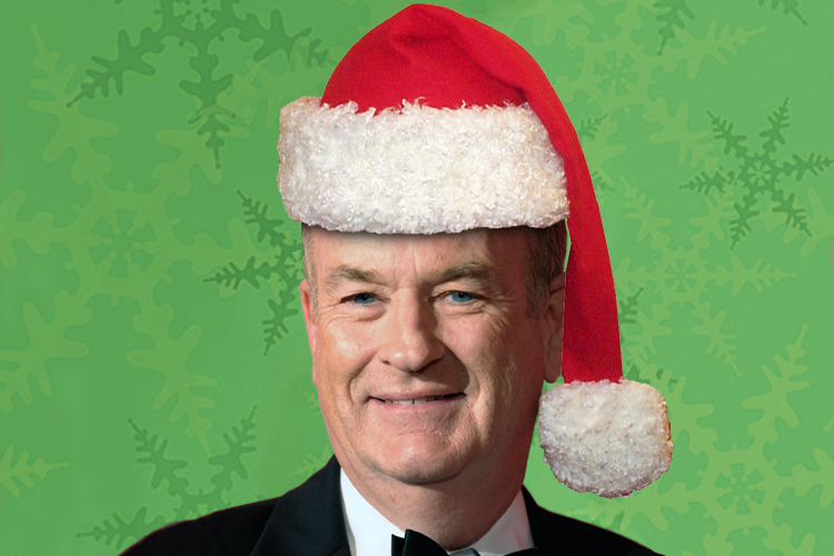False News of Bill O'Reilly Punching Santa Fools Haters