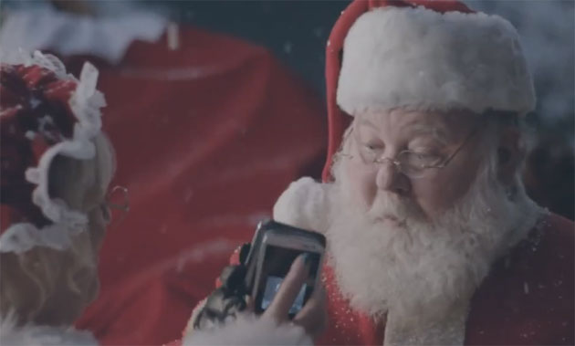 Samsung Ad Under Fire for Sexualizing Santa