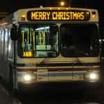 Saskatoon Bus Signs Will Say Merry Christmas
