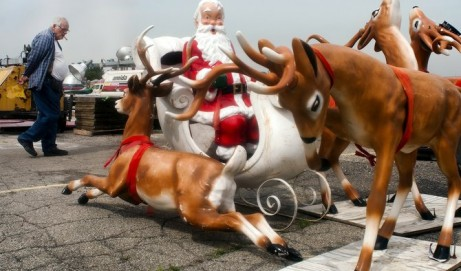 Santa Saved for Flint City Hall