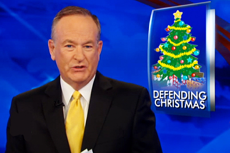 O'Reilly and Fox News Claim Victory with Merry Christmas Bill