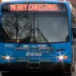 Saskatoon Buses Can Say Merry Christmas