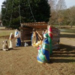 Air Base Quickly Removes Nativity Display