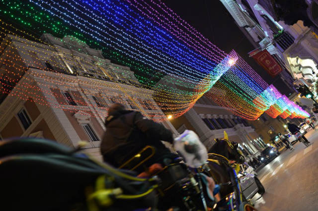 Gay Christmas Lights Dividing Italy