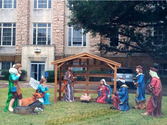Texas Courthouse Nativity Battle Explodes