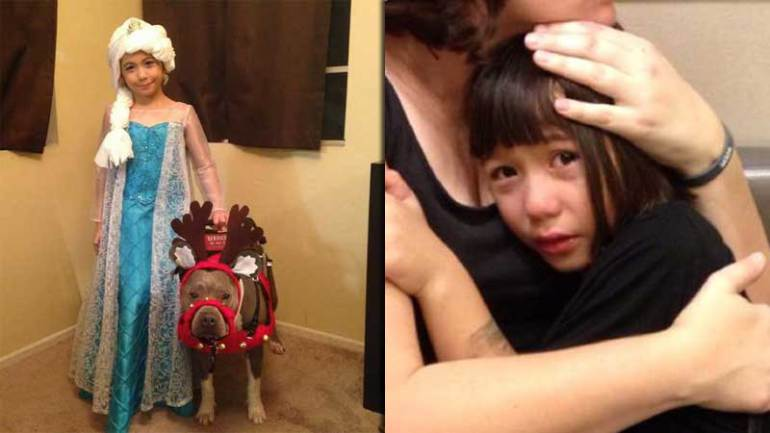 Bad Santa Denies Autistic Girl Because of Her Service Dog