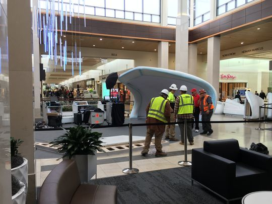 Mall CEO Orders Glacier Removed and Christmas Tree Restored