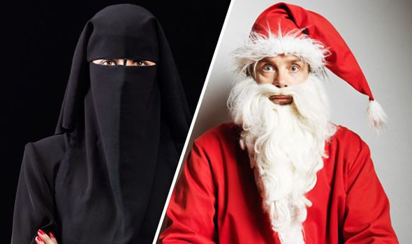 The Burqa Called Santa's Beard