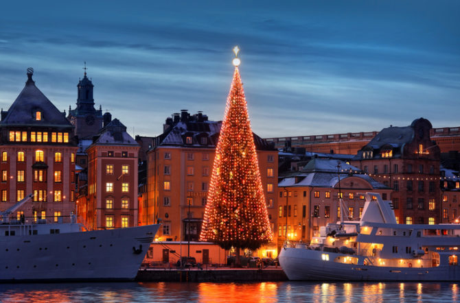Sweden Bans SOME Christmas Lights