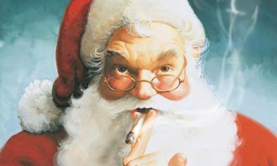 Santa Claus Advocates for Marijuana