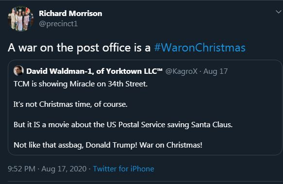Trump War on Christmas